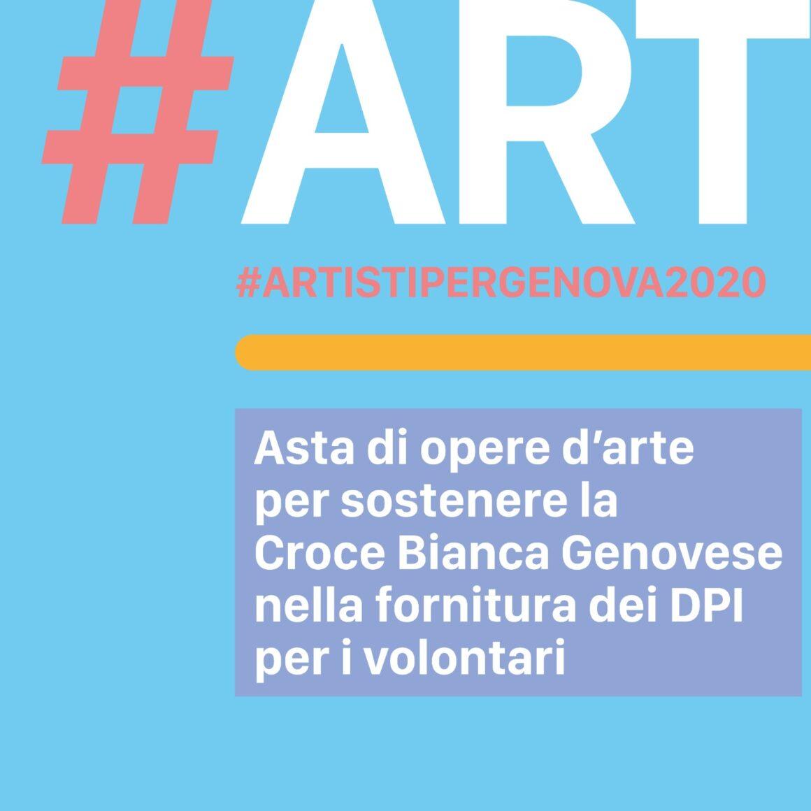 #ARTISTIPERGENOVA2020