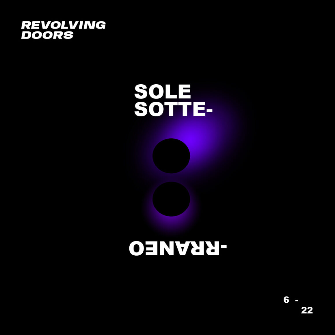RevolvingDoors – Sole Sottrreaneo